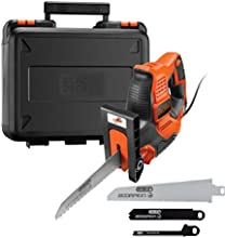 Black + Decker rs890 K-gb scorpion-powered Sierra de mano con maletín y auto-select, 500 W