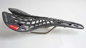 Laplace Spider Selle de VTT BMX antichoc & de carbone aspect bois