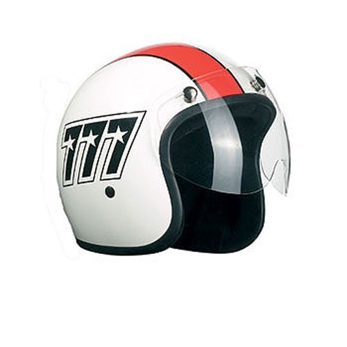 Bandit traje visera–corto visera para cascos Jet, transparente, talla única