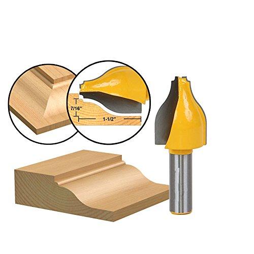 AKUTA 1/5,1cm Schaft Tür Messer Holz Cutter Zapfenschneider für holzbearbeitungswerkzeuge