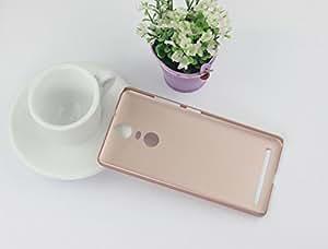 For Lenovo Vibe K5 Note [ Killer K5 Note ] Golden Sand™ Ultra Thin Series Rugged Hard Back Case; Velvet feel, Strong, High Quality 0.5mm Flexible PC Shell Perfect Fit Cover (Dashing Rose Gold)