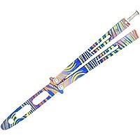 Epicknives – CS GO Balisong cuchillo de entrenador mariposa cuchillo de mariposa Trainer práctica Csgo – 02-3 (Dull hoja) V1.1