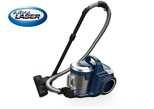 Aqua Laser Twin Jet Staubsauger mit Wasserfilter / Hepa / Beutellos Wasserfiltration