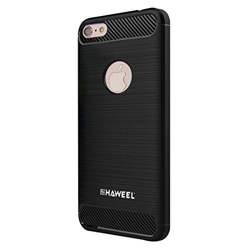 MXNET Fall für iPhone 6 u. 6s, gebürsteter Kohlenstoff-Faser-Beschaffenheit Shockproof TPU schützender Fall ,Iphone 6/6s Case ( : For iphone 6+6s (us stock) ) For iphone 6+6s