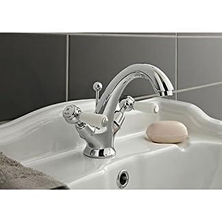 Hudson Reed bc305dl topacio palanca mezclador de lavabo–cromado