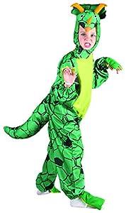 Reír Y Confeti - Ficani026 - Disfraces para Niños - Pequeños Triceratops Costume Deluxe - Talla L