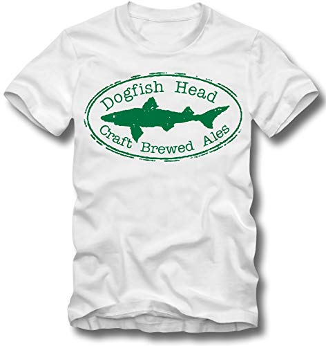 URBAN KULT T Shirt DOGFISH Head Craft Brewed ALES Bier Vintage HAI Beer Shark, XL