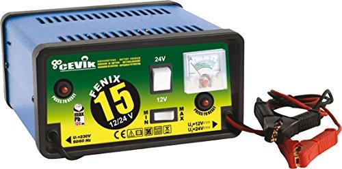 CEVIK CE-FENIX15 - CARGADOR DE BATERIA 12/24 V