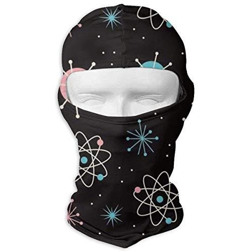 Csi Erwachsene Für Kostüm - Xukmefat Space Symbols Winter Cycling Vollmaske Staubdicht Kopfhaube für Männer und Frauen