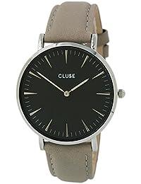 Cluse Damen Armbanduhr Analog Quarz Leder CL18218