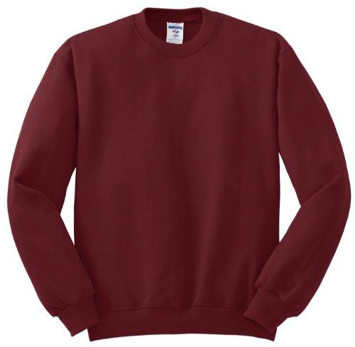 Hockey Symbol auf American Apparel Fine Jersey Shirt Rot - Scharlachrot