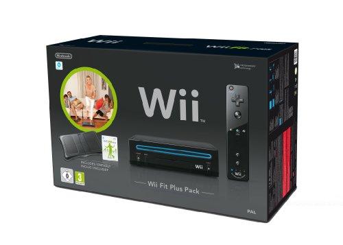 """Nintendo Wii """"Wii Fit Plus Pack"""" - Konsole inkl. Wii Fit Plus + Balance Board, schwarz"""