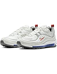 quality design 8625a 8d5c0 Nike Air Max 98 CD1538-100 Summit White Metallic Silver