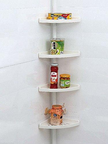 Safekom 4 Tier Corner Bathroom Shelves ...