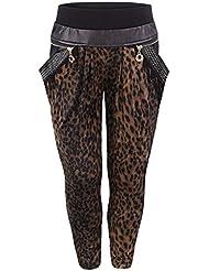 Fille Mode Pantalon Impression Animal Front Bas Enfants Leggings Pantalon