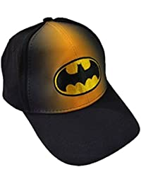 Krystle Unisex Stretchable Cotton Fabric Batman Baseball Cap Best Quality Two In One Colour Latest Stylish Snapback Cap