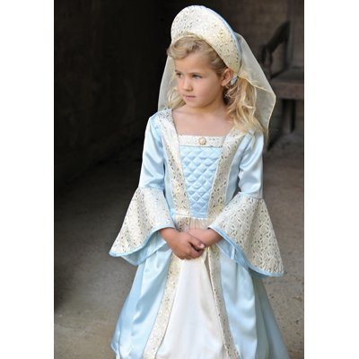 Travis Designs Tudor Girl Deluxe - Girls Fancy Dress Costume 6 - 8 years by Travis
