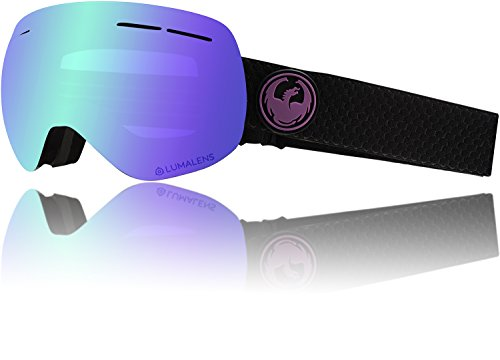 Dragon Schneebrille X1s Split + Lumalens Purple Ion + Lumalens Amber