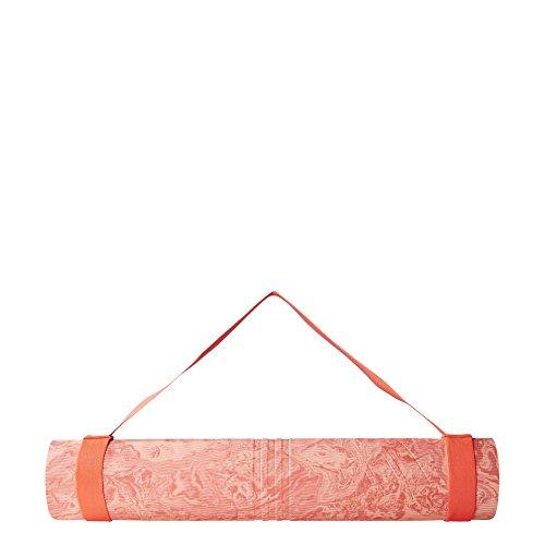adidas Damen Camo Rot Yogamatte, Shored/Sunglo, One Size