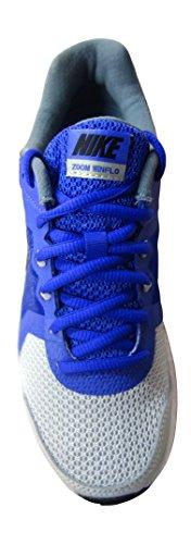 Nike Wmns Zoom Winflo, Chaussures de Running Entrainement Femme gris - Gris (Gry Mist / Blk-Prsn Vlt-Bl Grpht)