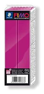 Staedtler 8041-210. Pasta para modelar Fimo Professional. Caja con 1 Pastilla de Color Magenta de 454 Gramos.