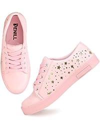 66f84fa0045 Amazon.in  Pink - Casual Shoes   Women s Shoes  Shoes   Handbags