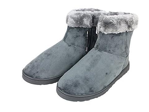 ObboMed MF-2600L USB 5V 10W Chaussons chauffants avec fibre de carbone chauffant (semelle rigide) – taille : 41 à 45 Pantoufle chauffants, chaussure infarouge, coussinet chauffant, chauffeur de pieds, solution pour pieds froids