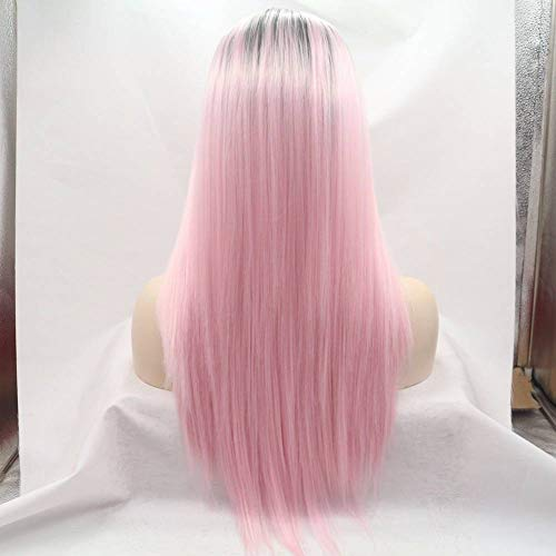 ZxubDqbmdwj Perücke/Ladies Wig Fashion Long Gradient Straight Hair Wig for Role -Play Party Kostüme