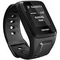 TomTom Spark Musik Fitness Uhr, schwarz, S, 1REM.003.03