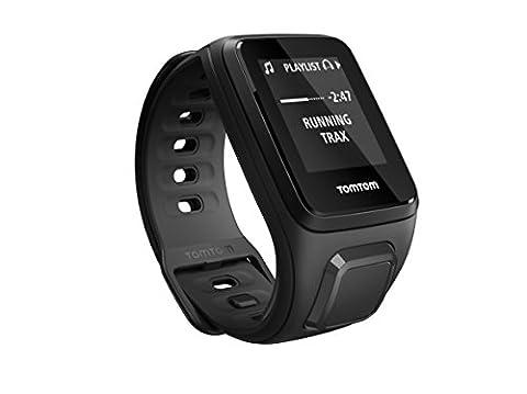 TomTom Spark Music - Montre Fitness GPS - Bracelet Fin Noir (ref 1REM.003.03)