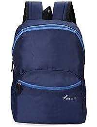 Chris & Kate Navy-Blue Small Tuition Bag | Casual Backpack |College Bag |Multi-Purpose Bag(20 Litres)(CKB_198KF)