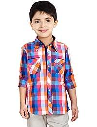 Naughty Ninos Multi Coloured Full Sleeve Check Shirt