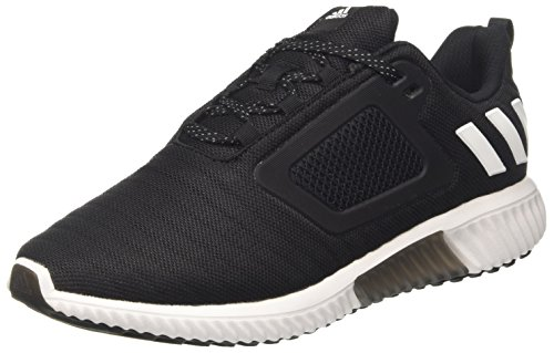 adidas Herren Climacool Laufschuhe, Schwarz (Core Black/Footwear White/Night Metallic), 44 2/3 EU
