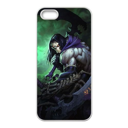 Darksiders coque iPhone 4 4S Housse Blanc téléphone portable couverture de cas coque EBDXJKNBO15043