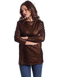 Converse 10006207 Sweatshirt Women Brown S