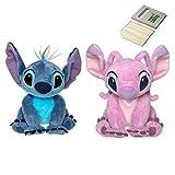Price Toys Disney-Stich und Angel Soft Toy Set von Lilo und Stitch - Mini Sitzsack Plüsch (Mike/Sulley)