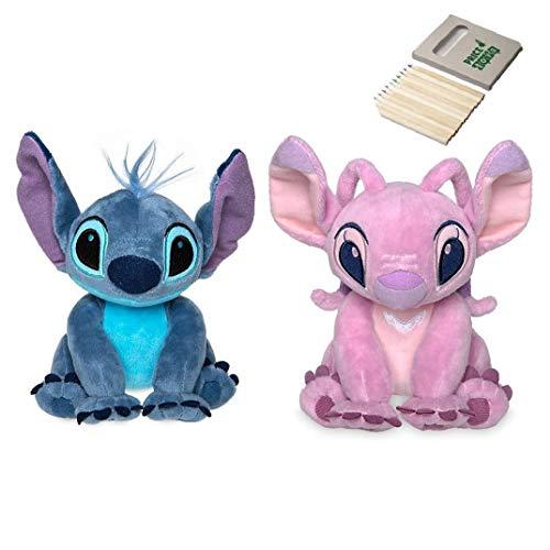 Price Toys Disney-Stich und Angel Soft Toy Set von Lilo und Stitch - Mini Sitzsack Plüsch...