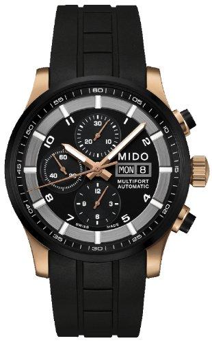 Mido Multifort II Herren-Armbanduhr 44mm Kautschuk Automatik M005.614.37.057.09