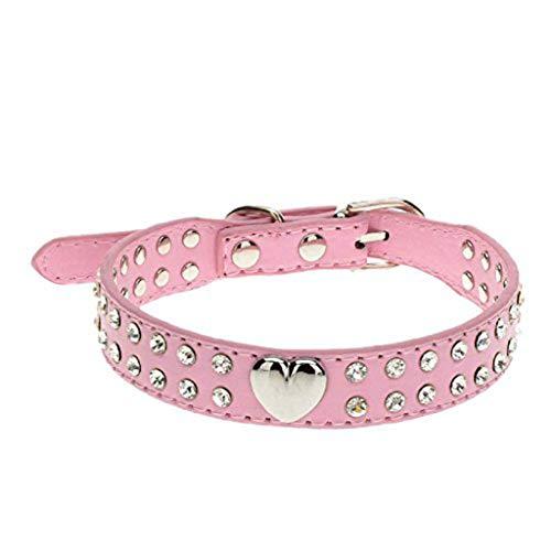 Ularma Cristal Bling Collar del animal doméstico, cachorro y collar de gato...