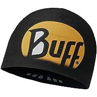 Buff Original Microfibra Reversible Gorro r-Ultimate Logo Negro-Negro - Microfibra Gorro Unisex, Color, Adulto