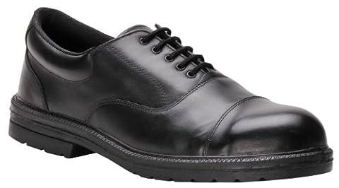 Portwest FW47BKR43 S1 UK Size 9/ EU Size 43 Executive Oxford Shoe