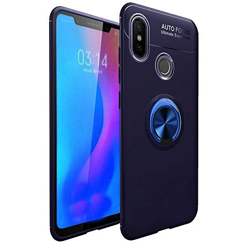 4a78d3ac64b Ntron Xiaomi Mi Redmi Note 5 Pro Back Case Cover Shock Proof Ring Stand Back  Cover