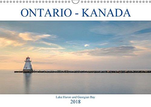 Ontario Kanada, Lake Huron und Georgian Bay (Wandkalender 2018 DIN A3 quer): Farbenprächtige Sonnenuntergänge, romantische Buchten und historische ... (Monatskalender, 14 Seiten ) (CALVENDO Orte) - Georgian Bay Des Lake Huron
