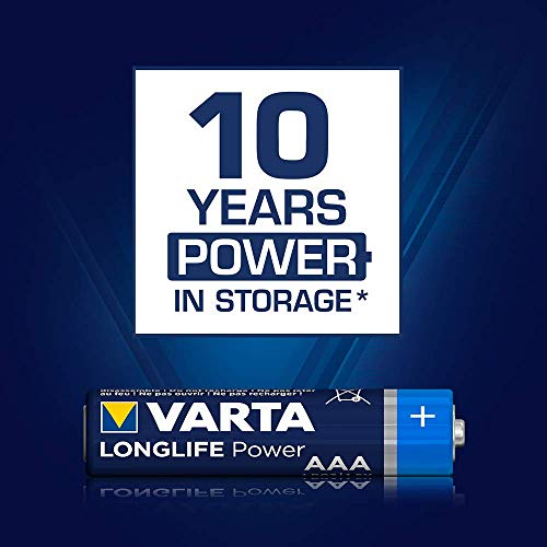 Varta High Energy Batterie AAA Micro Alkaline Batterien LR03 – 10er Pack - 5
