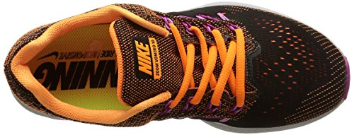 Nike Wmns Air Zoom Vomero 10, Scarpe Deportivo, Donna Brght Ctrs / Blk-fchs Glw-fchs F