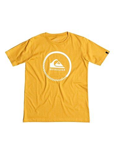 quiksilver-classic-active-check-t-shirt-tee-shirt-garcon-jaune