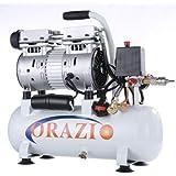 241183E Compresor de aire de tipo silencioso 65DB 600W 9L para el garaje móvil, clínica