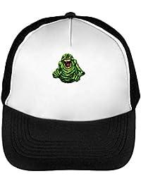 280da74f0e02d Ghostbusters Angry Slimer Gorras Hombre Snapback Beisbol Negro Blanco