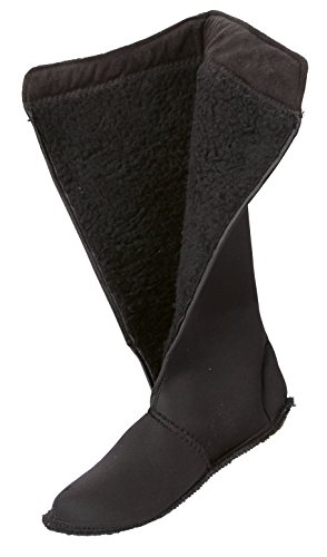 Covalliero 327526, Stivali termici da equitazione, misura 34 Black