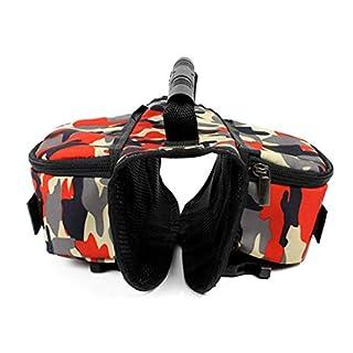 31f4f145b53c2 VICTORIE Hund Geschirr Tasche Satteltasche Rucksack Carrier Haustiere für  Außen Reise Training Camping Spaziergang Bunt L